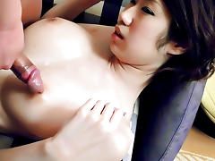 Amazing Japanese girl Fuuka Takanashi in Hottest JAV uncensored Cumshots clip