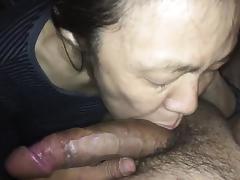 Asian Mature, Asian, Blowjob, Facial, HD, Mature