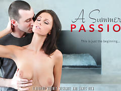 Whitney Westgate & James Deen in A Summer's Passion Video