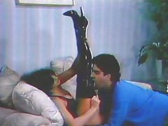 Latex boots fetish vintage time