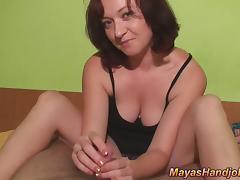 huge cumshot on my pussy