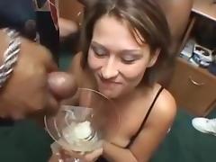 5 girls swallow 101 cumshots