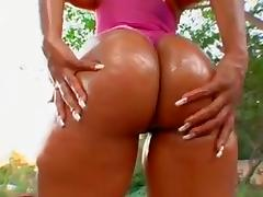 Honey Bunn Giant Black Greeze Butts 5