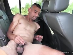 Hung Roman Juta Jacking Off