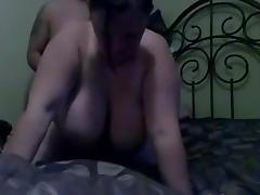 Sexy BBW and I homemade fucking