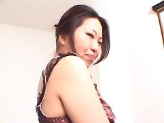 Body massage fun with a hairy Asian girl that gets fucked
