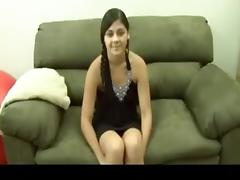 So sexy nepaly american female make fun in a reality amateur show