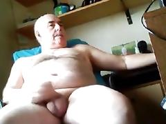 grandpa bottom play on cam
