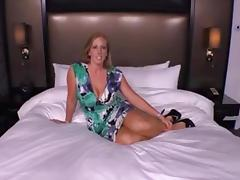 Amateur milf IR threesome creampie
