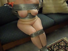 MiLF wrapped in duct tape