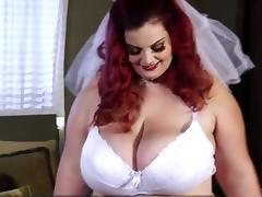 Wedding, BBW, Bride, Chubby, Chunky, Fat
