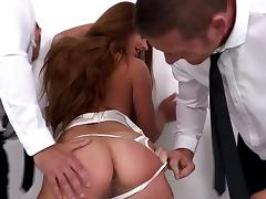 Boss, Anal, Assfucking, BDSM, Boss, Brunette
