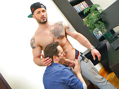 Pascal & Manuel Deboxer in Office Suck 3 - Deboxer XXX Video