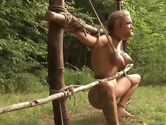 Jungle, BDSM, Outdoor, Slave, Forest, Jungle