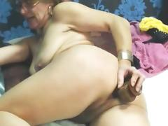 Old Lady, Anal, Assfucking, Granny, Masturbation, Mature