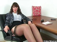 British, British, Fucking, Mature, MILF, Stockings