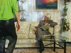 What is the Name Of the German Mature MILF Granny?