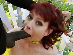 sexy model love anal toying her tight ass