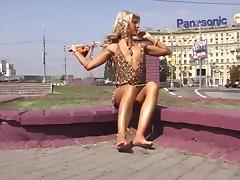 Barefoot Valeria - Moscow Public Slut 2