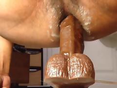 Por el culo dildo in ass