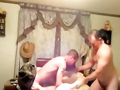 Mature amateur porn with me being fucked by two guys