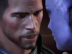 Mass Effect 3 All Romance  Sex Scenes Male Shepard