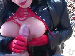 Goth, Amateur, Big Tits, Boobs, Compilation, Cumshot
