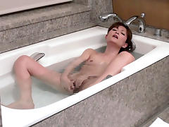 Crazy Japanese girl Rin Ninomiya in Best JAV censored Bathroom, Small Tits movie
