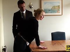 British, BDSM, British, Punishment, Slut, Spanking