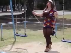 baby jumps huge boobs