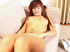May in Naughty Maid - LadyboyGold