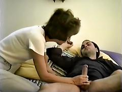 Mom loves to suck cock