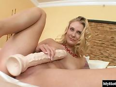 All, Blonde, Horny, Masturbation, Naughty, Toys