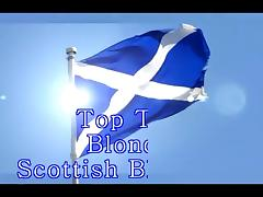 Best Blonde Scottish Blowjobs Compilation