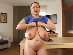 Saggy beautiful mom