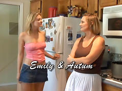 Autum Moon in Lesbian Seductions #08, Scene #01