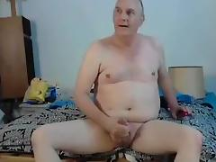 Jacking off with sex toy in my ass