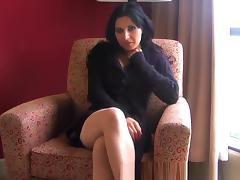 Crazy Amateur movie with Big Tits, Brunette scenes
