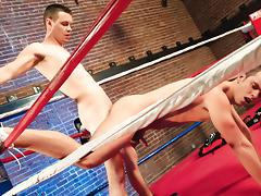 Knockouts And Takedowns XXX Video: Michael Keys, Devin Adams