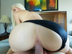 Model, Blowjob, Couple, Cowgirl, Cumshot, Doggystyle