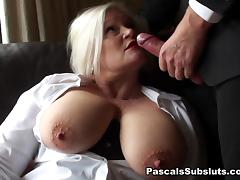Vagina, Big Tits, Blonde, Granny, Masturbation, Mature