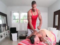Awsome gay getting gay body massage