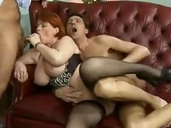 Mommy, Mature, Mom, Office, Double Penetration, Mother