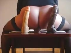 8-10 and 12 inches moaning dildo ride