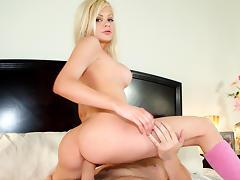 All, Big Tits, Blonde, Facial, Friend, Girlfriend
