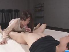 Seems like nasty, Mizuki Ogawa, wants to swallow