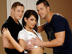 Coco Velvett & Tommy D & Rod Daily in Bedroom Threesome Fantasy XXX Video