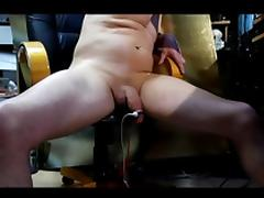 30 min electrostim cock anal extracts