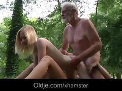 Old and Young, 18 19 Teens, Big Cock, Huge, Monster Cock, Old