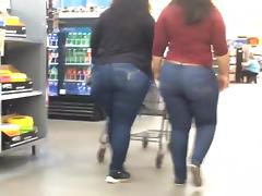 Big Ass, Ass, Big Ass, Jeans, Latina, Voyeur